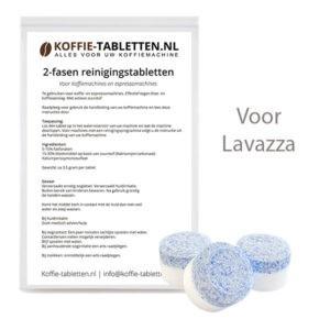 2-fasen reinigingstabletten voor lavazza